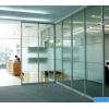 丰台区安装不锈钢玻璃门 洋桥定做不锈钢玻璃隔断