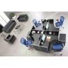时尚组合型不锈钢四人办公桌