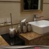 不锈钢家用/酒店卫浴用品橄榄五件套