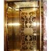 定做杭州不锈钢电梯门、浙江玫瑰金轿厢门装饰