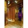 江西别墅钛金不锈钢轿厢装饰板、玫瑰金电梯门