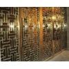 北京酒店激光雕刻不锈钢屏风、上海钛金镂空不锈钢屏风