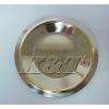不锈钢金边碟子红酒杯碟圆形碟不锈钢碟杯垫