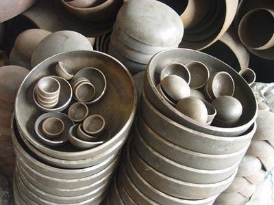 碳钢管帽封头椭圆封头生产厂家河北润宏管道